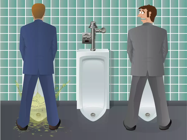 Guys What S The Proper Way To Pee So That No Drop Falls