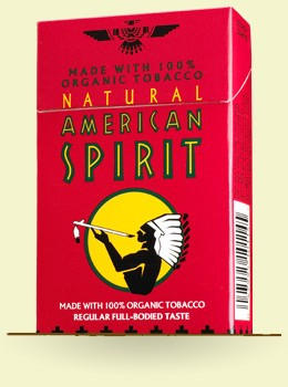what do the different colors of american spirit cigarettes mean
