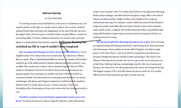 Essays On Reading Heres A Diagram To Help Get You Started The Statement In Bold Is The  Thesis The Statements In Blue Are Supporting Ideas That Develop The Thesis My Educational Philosophy Essay also Why Do You Want To Become A Police Officer Essay What Are The Examples Of A Thesis Vs An Essay  Quora How To Write Conclusion Essay