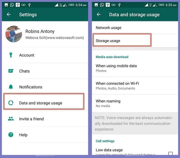 In my Android phone, WhatsApp's size is 64 52 MB  My