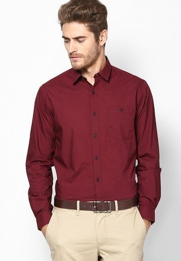 What color of pants should i wear with a maroon shirt quora for What color shirt goes with brown pants