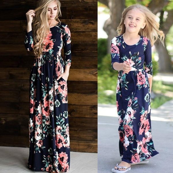 from cool floral dresses and mommy and me christmas outfits to party wear and mommy me swimsuit the renowned online store has plenty of dress choices to