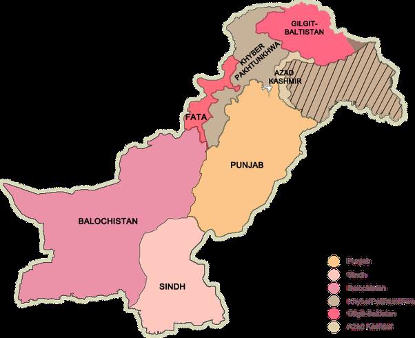 What Is The Language Spoken In Pakistan Quora - Pakistan language map