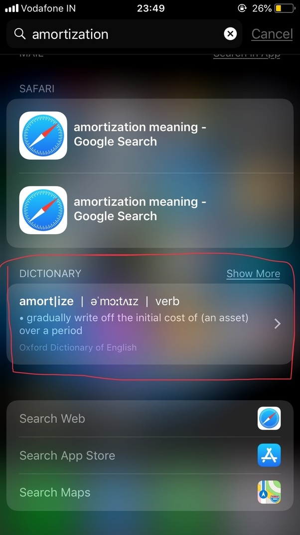 Which is the best offline dictionary for iOS? - Quora