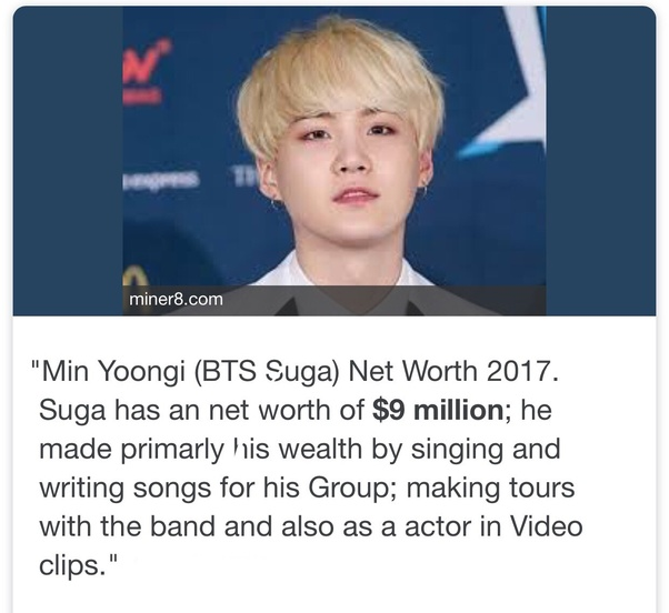 What is the net worth of the K-pop crew BTS? - Quora