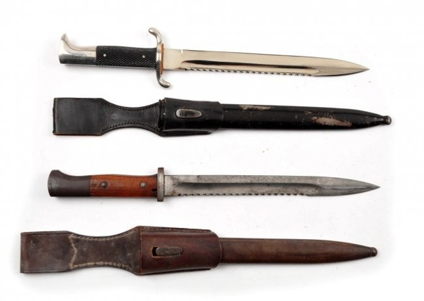 Why is the Jagdkommando knife banned if it's a knife to be used by