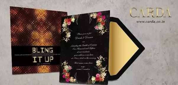 Where can i find the best invitation card designer in hyderabad quora basically carda is sub division of great printing service provider the entertainment design company you can also visit our showroom in hyderabad location stopboris Images
