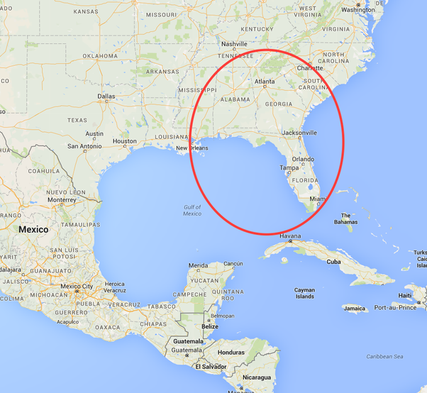History and Geography FAQs and Answers  |What Two States Border Mexico