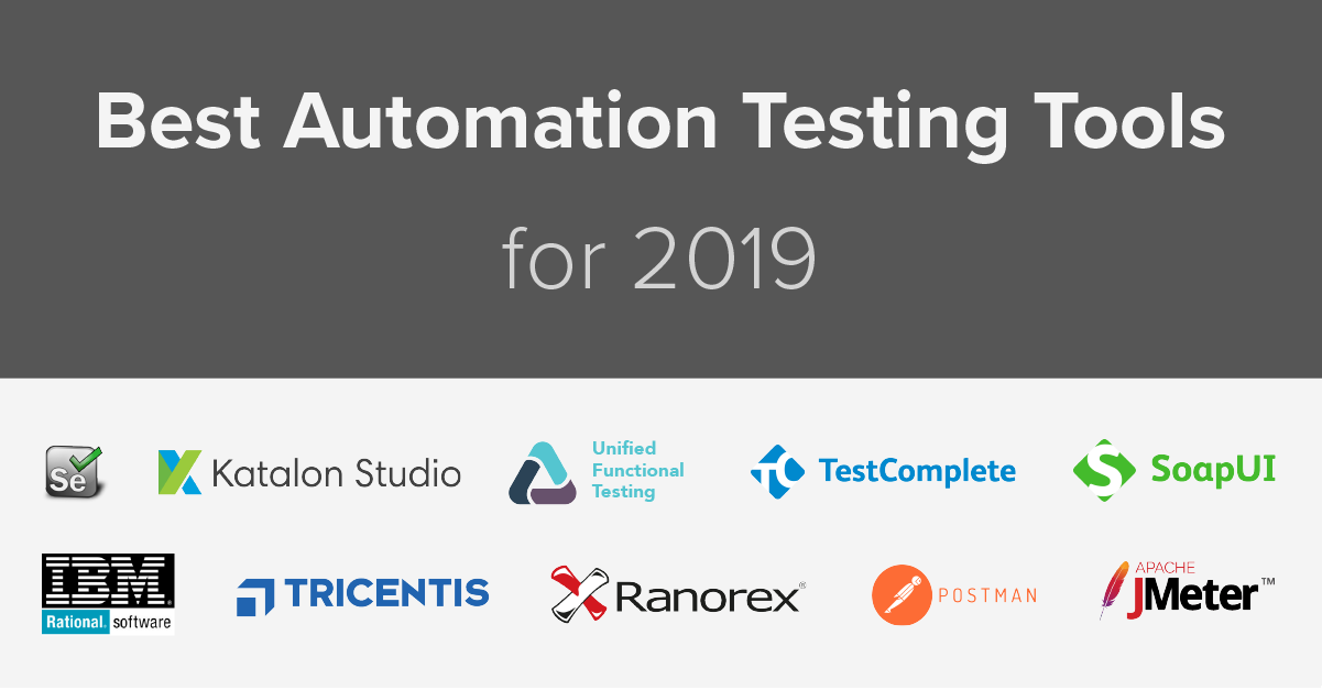 What will be the biggest automation testing tools in 2019
