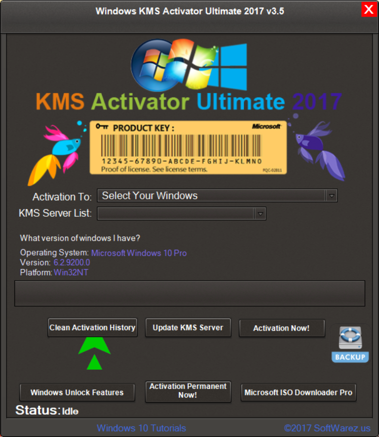 activate windows 10 education kmspico