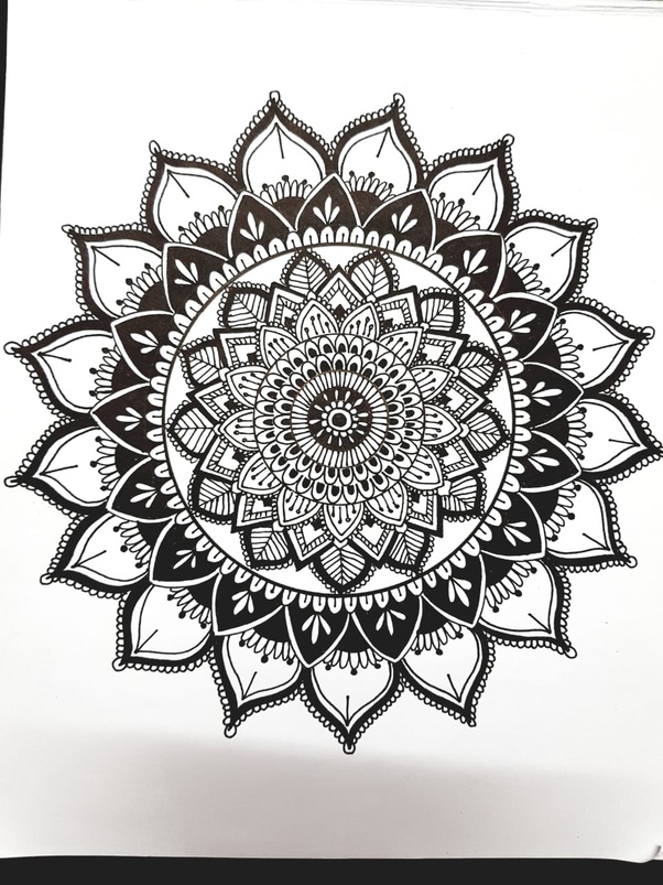 What Are Some Simple Mandala Designs For Beginners To Draw Quora
