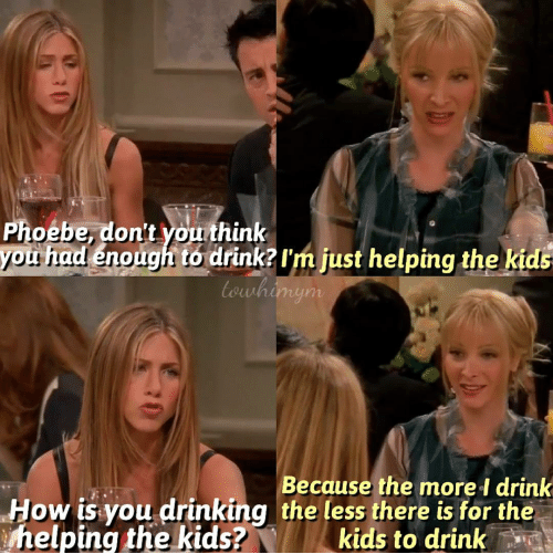 What are some awesome Phoebe Buffay moments? - Quora