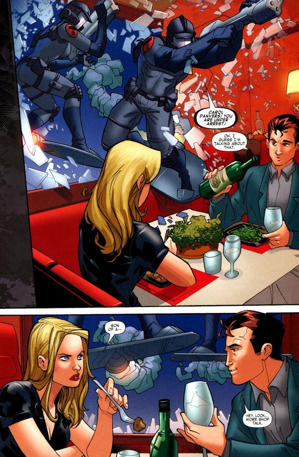Why can't Peter Parker and Carol Danvers be a couple? - Quora