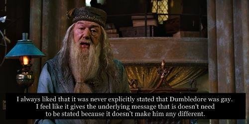 from Finn rowling dumbledore gay