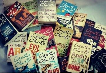 I like collecting books too. I have total of 30 Agatha Christie's book till  date and still reading.
