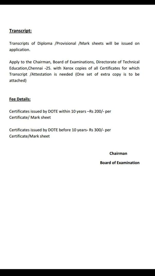 What Is Transcript Transcripts Of Diplomaprovisionalmark Sheets