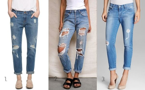 What Are Jeans With Holes Already Cut In Them Called Quora