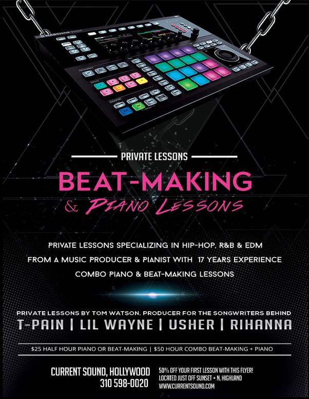 What's the best way to learn hip hop music production from