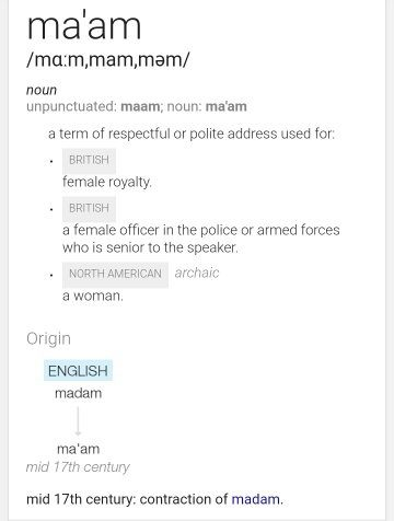 what is the difference between calling a female teacher as miss or
