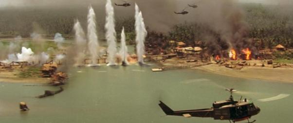 apocalypse now helicopter scene music