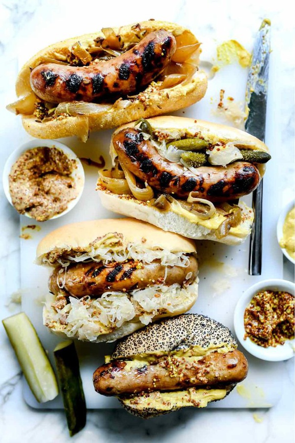 What is the best way to cook bratwurst at home? - Quora