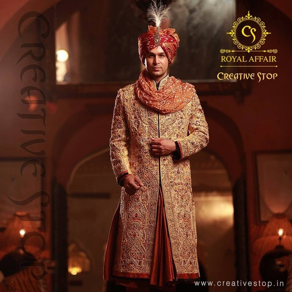 1a4f0483a7 Dhruv Vaish - Dhruv Vaish offers complete range of indian wedding dresses  for men through his leading boutique that is based in New Delhi.