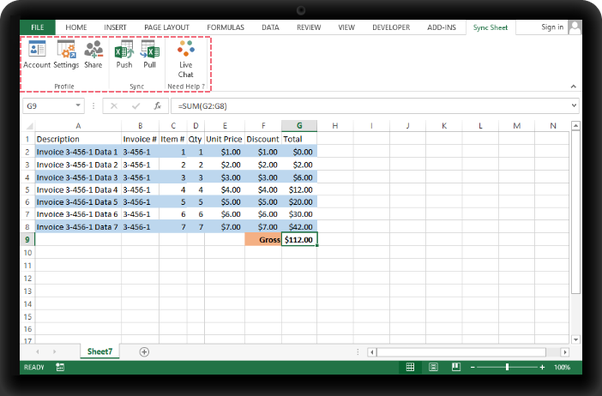 which tool can sync between microsoft excel and google sheets both