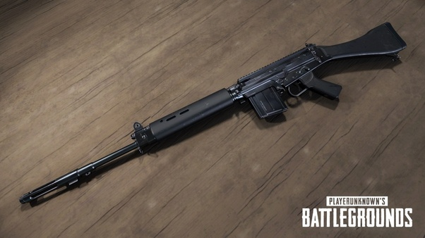 Why do PUBG players prefer KAR98 over SLR or Mini 14? These rifles