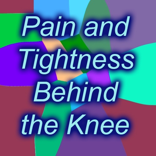 What Can Cause Non-traumatic Tightness And Pain Behind One
