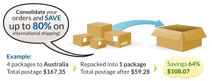 Is there any cheaper way to ship goods from USA to India or Nepal