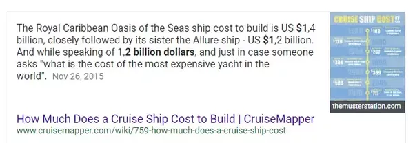 How Much Does It Cost To Build The Latest And Greatest Cruise - How much do cruise ships cost to build