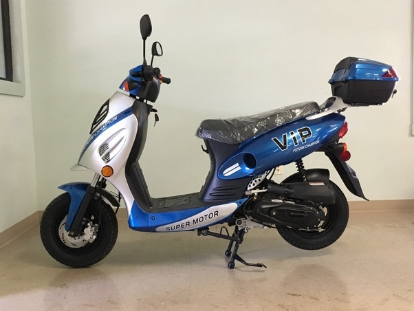 How to tell if my motor seized up in my VIP moped with a