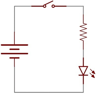 why is the switch in a circuit diagram before the battery quora rh quora com circuit diagram switch mode power supply parallel circuit diagram with switch