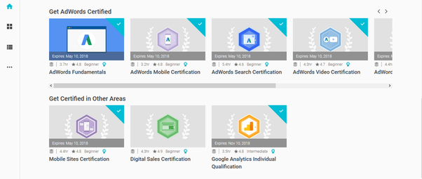 Google Certification Courses List Quora