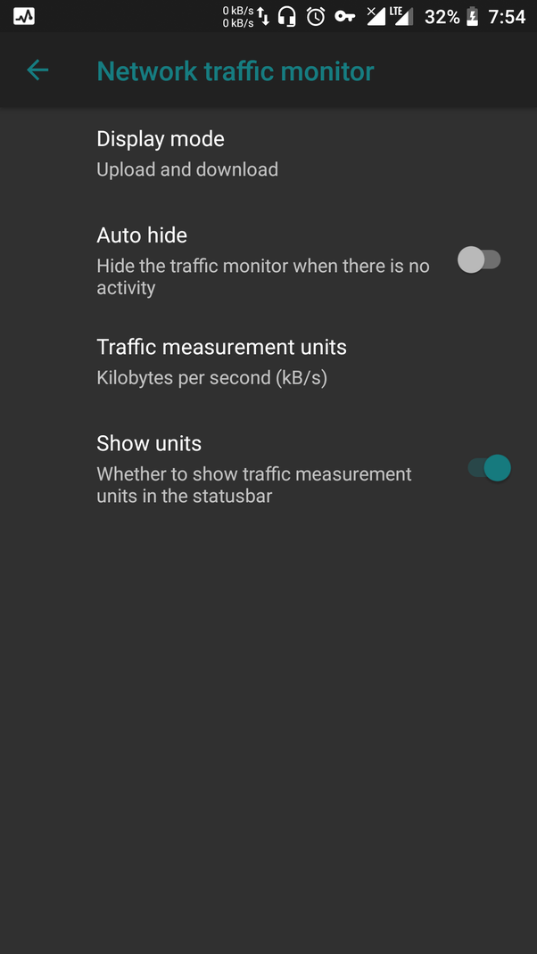 How to get a network speed indicator in Lineage OS (Redmi
