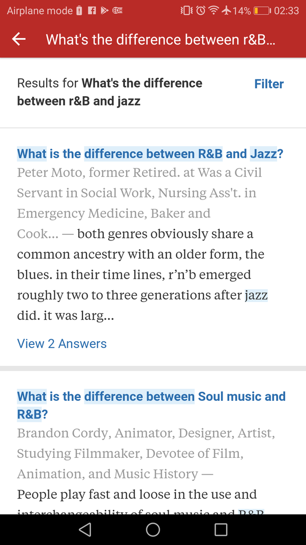 What is the difference between R&B and Jazz? - Quora