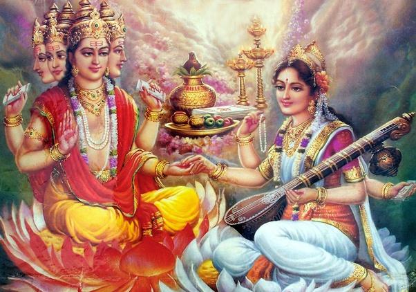 What is the relationship between Saraswati and Brahma? - Quora