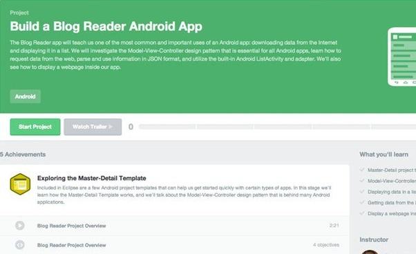 best way to learn web application development