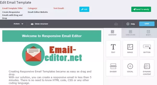 Is there an open source email template editor similar to MailChimp\'s ...