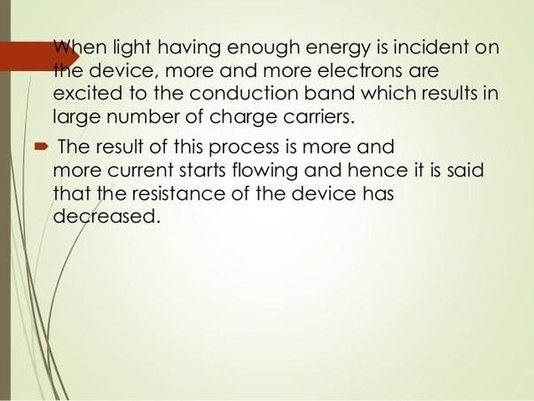 How does LDR sensor work? - Quora