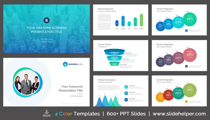How do the big consulting firms design their reports to look