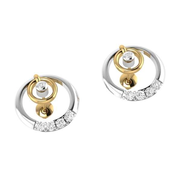 96c5b94ff I would like to suggest Stud Earrings for the round face shape because it  looks simple but classy. It will admire your look after dress up with it.