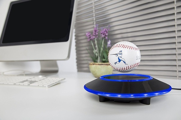 there are many gifts you can send to your boyfriend for christmas how about this levitating bluetooth baseball speaker it looks super cool and very chic