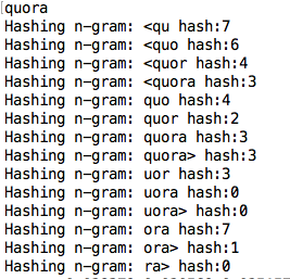 How does fastText output a vector for a word that is not in