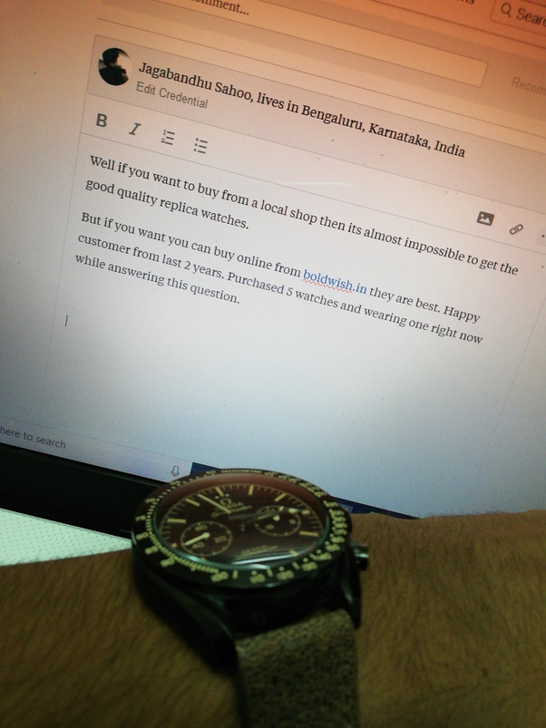 where can i buy or sell first copy watches in bangalore quora