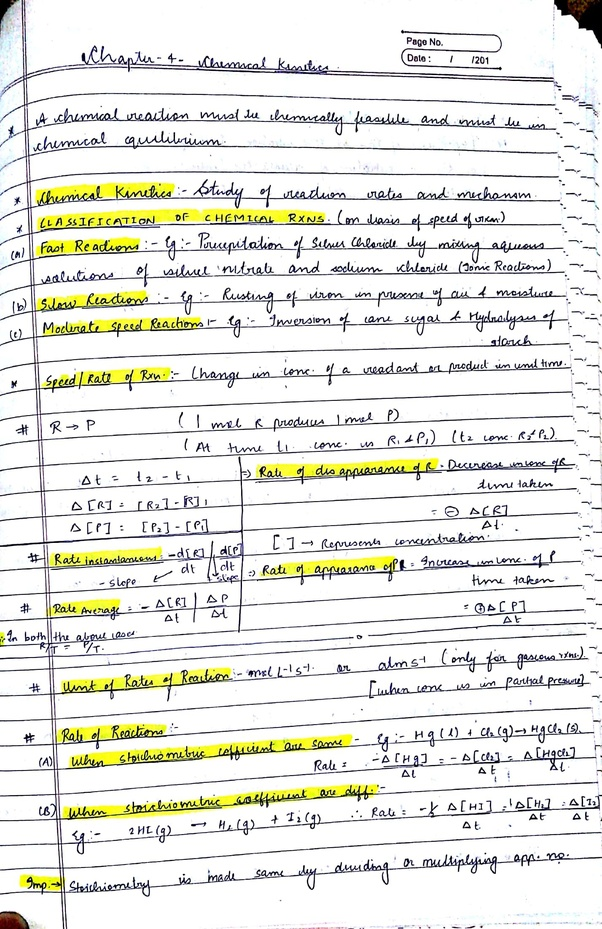 Can Someone Share Their Physics And Chemistry Notes For