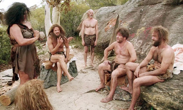 Nudist Cave dwellers