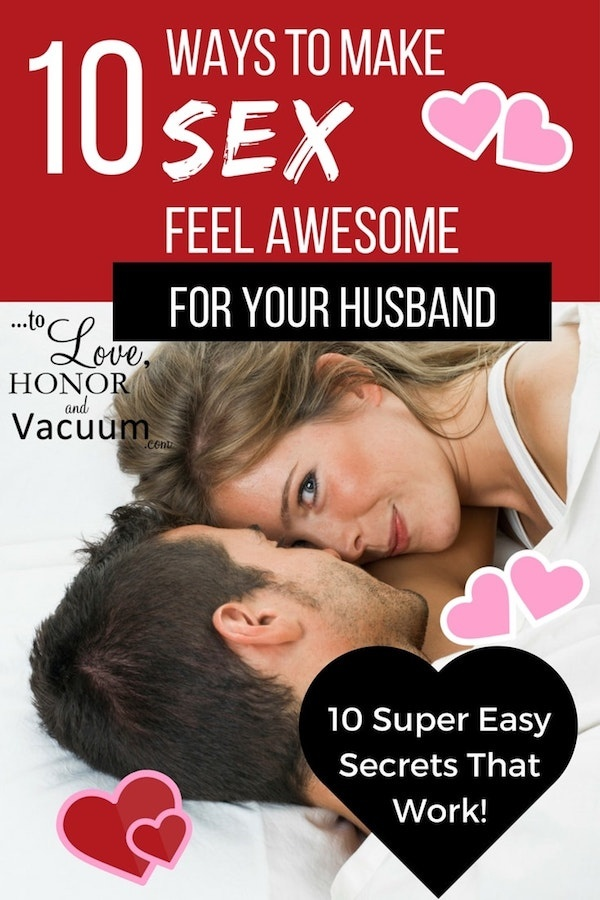 How to keep your husband satisfied in bed