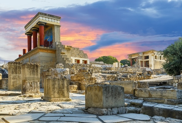 Was the 'Atlantis' legend based on the Ancient Minoan