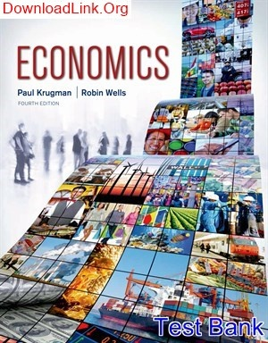 Where Can I Read Macroeconomics 4th Edition Krugman Test Bank Quora